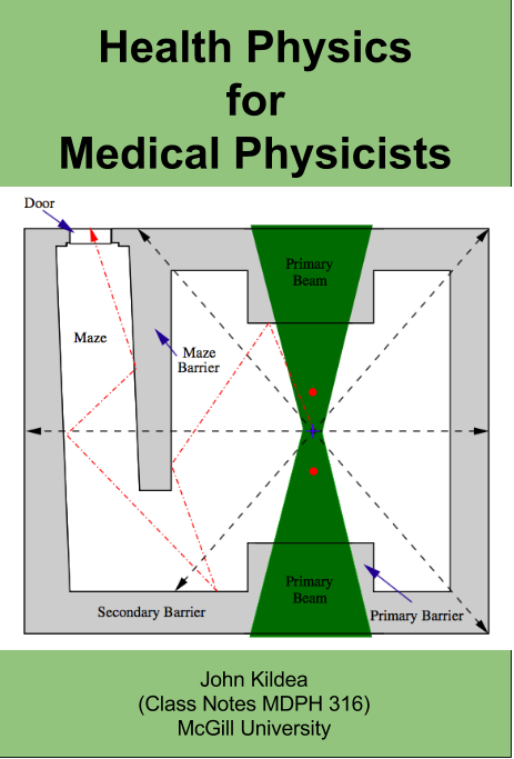 medical physics notes Teaching and student supervision within the mcgill medical physics unit, i teach the following courses: mdph 613 - health physics for medical physicists (primary instructor, 2 credits) - see below for details and class notes.